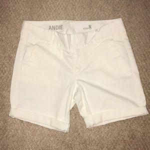 J. Crew Andie Cuffed Bermuda Shorts